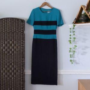 Lois Snyder Dani Max Vintage Dress w/Shoulder pads